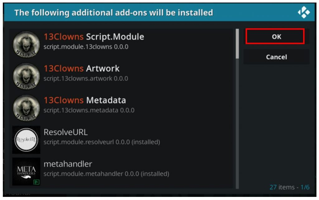 How to Install the 13 Clowns Kodi Addon in Quick and Easy Steps