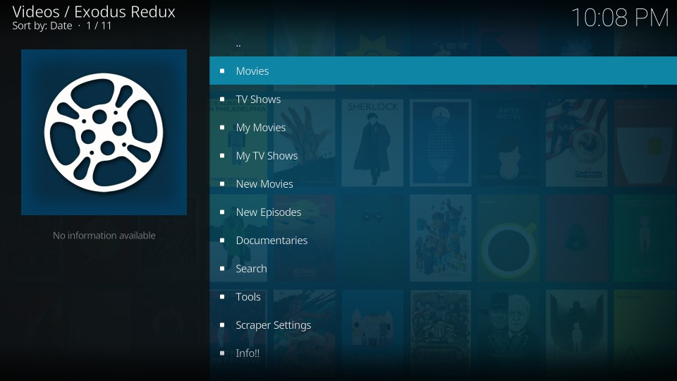 how to install and use exodus redux addon on kodi