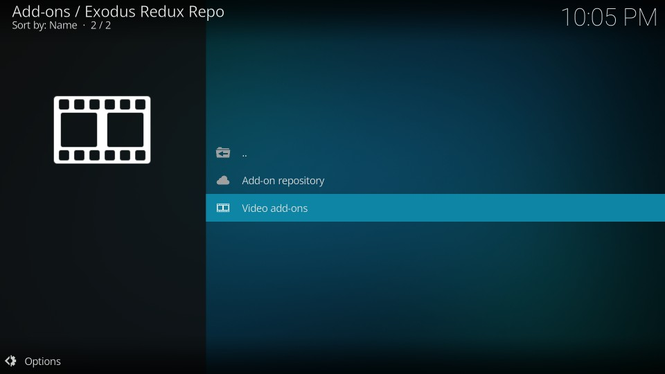 watch movies on exodus redux kodi addon