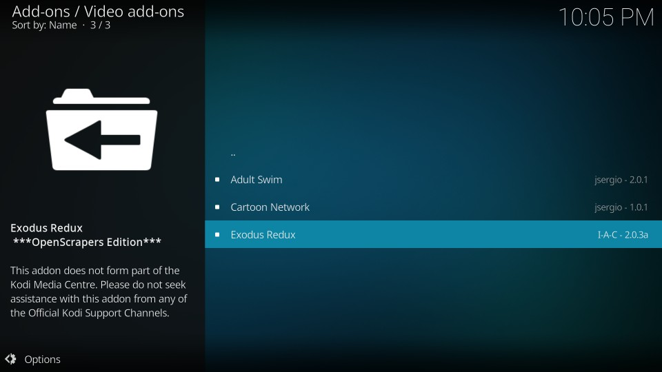 how to install exodus redux on kodi