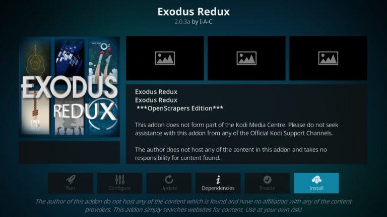 How to Install Exodus Redux or Exodus 8.2.0 Addon on Kodi