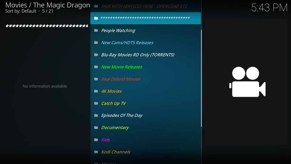 how to use magic dragon addon