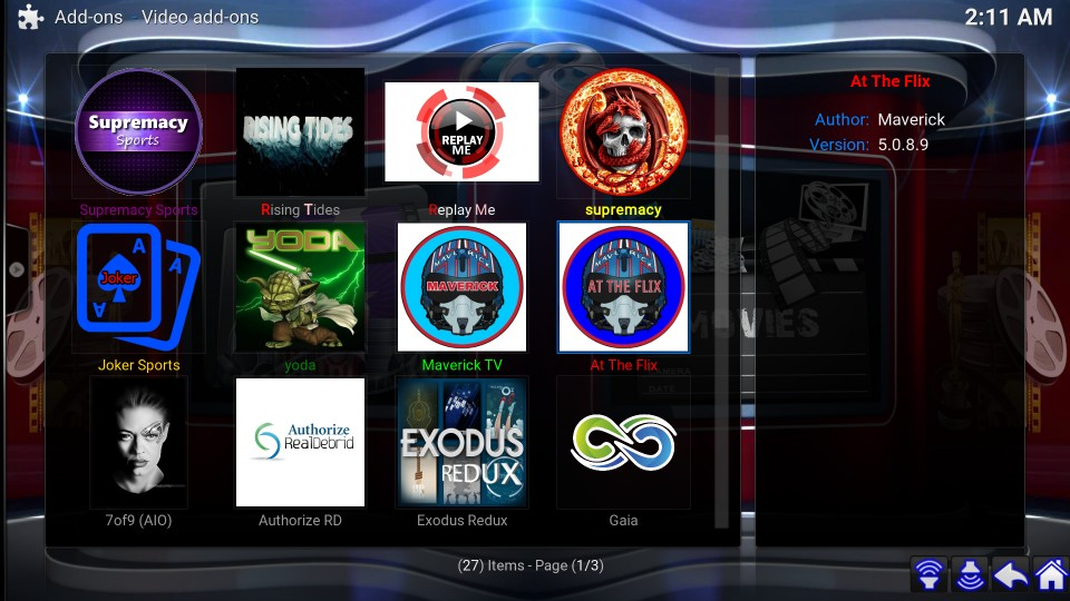 how to use kodi titanium build