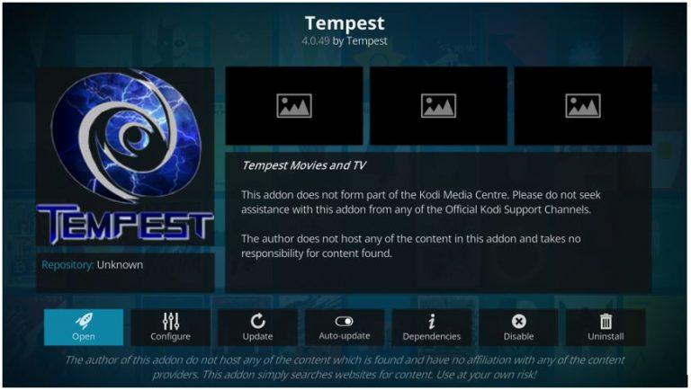 How to Install Tempest Kodi Addon