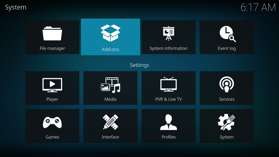 streamline build kodi