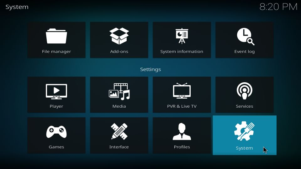 how to install streamline build on kodi
