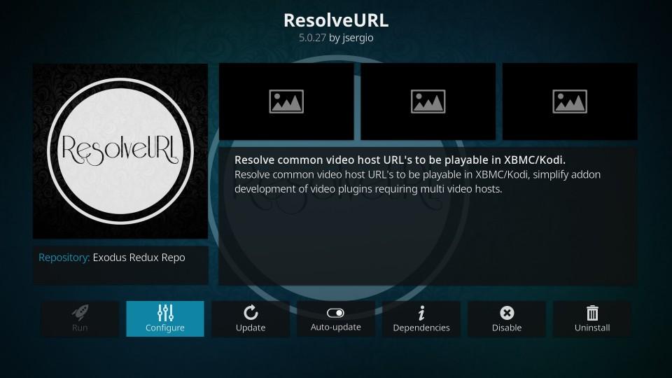 setup real debrid with resolveurl