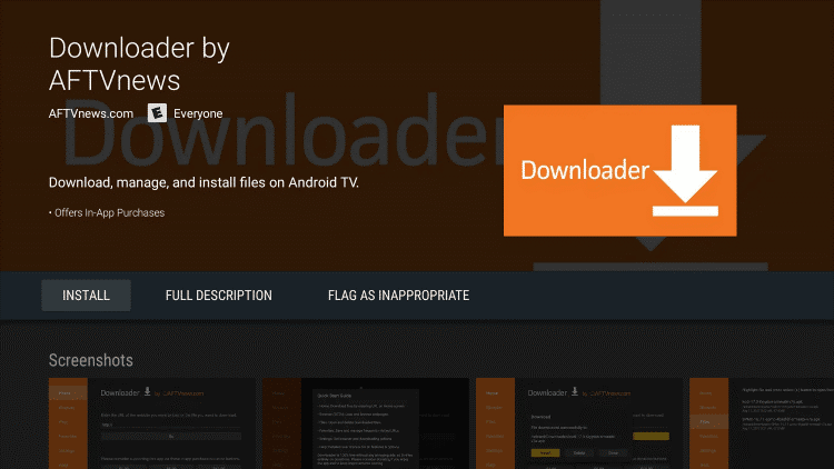 downloader on android box