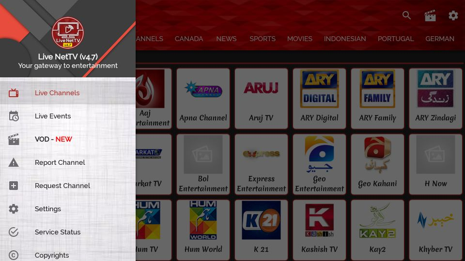 how to install live nettv on firestick