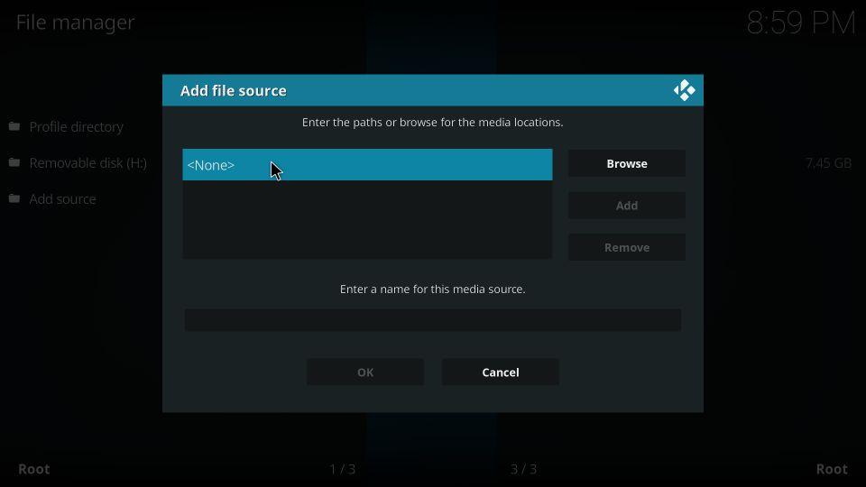 install ccloud tv kodi addon