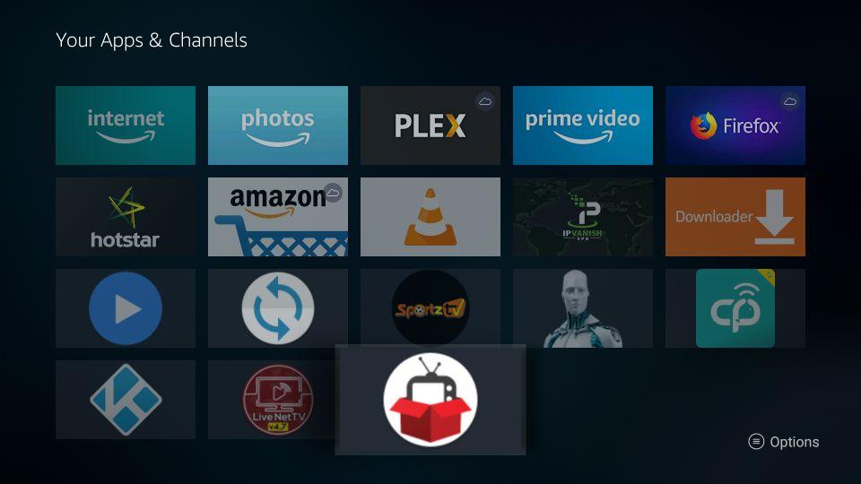 redbox tv app firestick