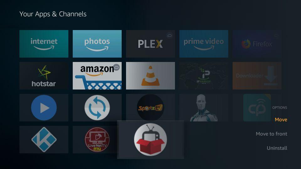 how to set up redbox tv on firestick