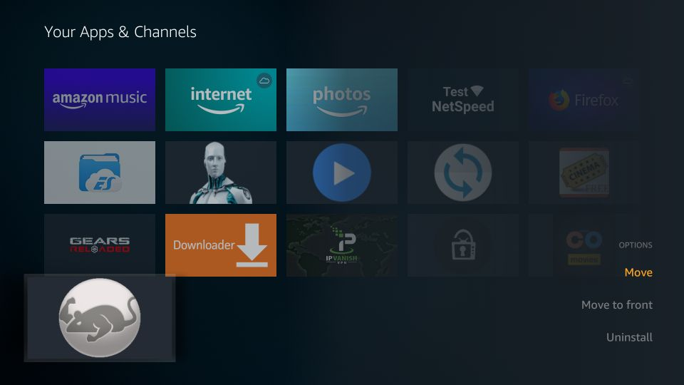 how to use catmouse apk on Firestick