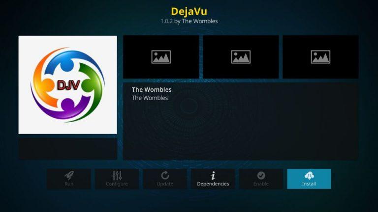 How to Install DejaVu Kodi Addon