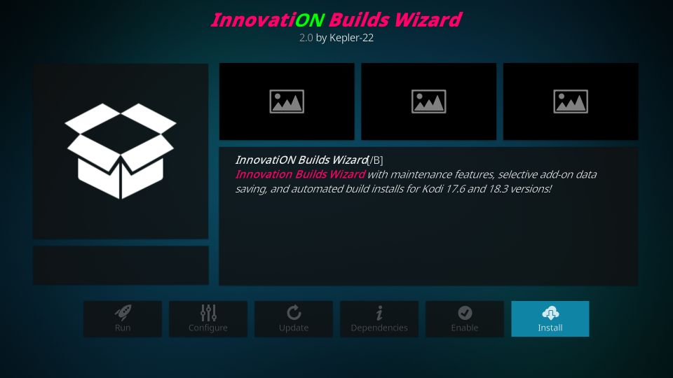 innovation builds wizard