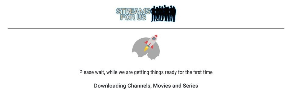downloading channels, movies and series