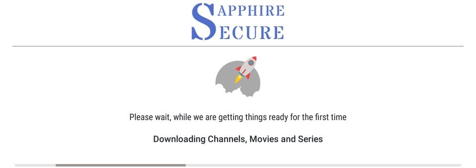 set up sapphire secure
